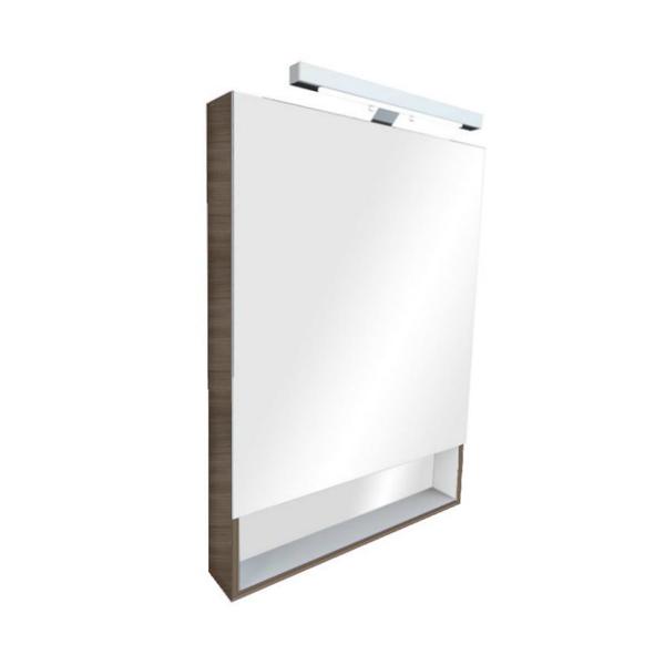 Зеркальный шкаф Roca GAP 60 тиковое дерево ZRU9302844