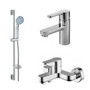 Комплект для ванной комнаты Bravat Stream 3 в 1